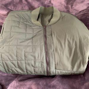Brand new men's lululemon bomber jacket